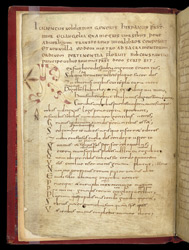 A Decorated Letter, In Juvencus's Poetic Life of Christ